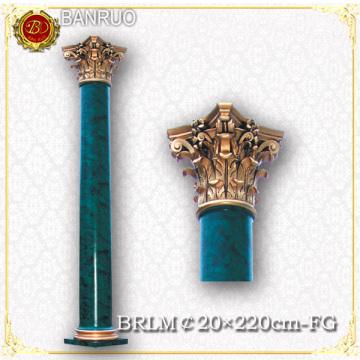 Banruo Fabrik Großhandel grüne künstlerische römische Säule