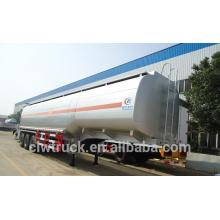 Tri-axle 45000litres fuel tanker camião capacidade