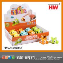 Мультфильм Веселые детские игрушки Малые пластиковые игрушки W / U 8CM Пчелы 12PCS / BOX