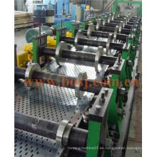 Bandeja perforada pre-galvanizada del cable con el ce y UL Roll que forma la máquina de producción Tailandia