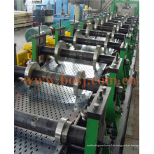 Vorverzinkte perforierte Kabelrinne mit Ce und UL Rollenformung Produktionsmaschine Thailand