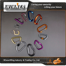 new design water bottle holder carabiner lanyard with carabiner clips