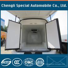 Le camion Dongfeng a monté la boîte frigorifiée d'unité frigorifique de cargaison
