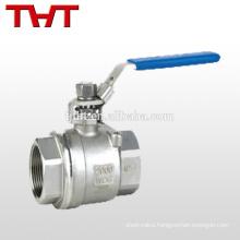 stainless steel floating spherical ball valve