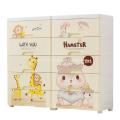 Cartoon Plastic Drawer Cabinet for Storage
