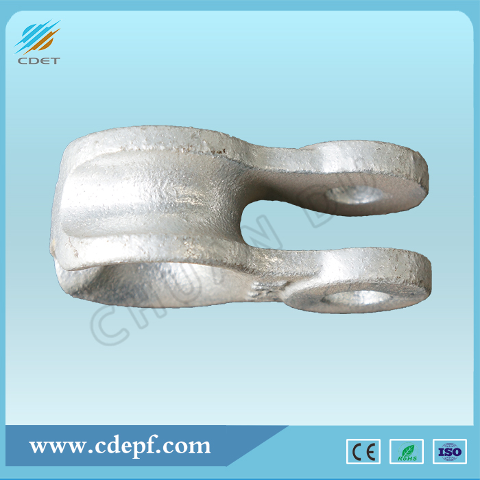 Galvanized Steel Thimble Clevis