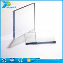 Garantie de 10 ans Protection contre les rayons UV à 6 mm d'épaisseur anti-statique en polycarbonate