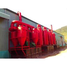 O mais novo projeto de gerenciamento de resíduos de serragem forno de carbonização