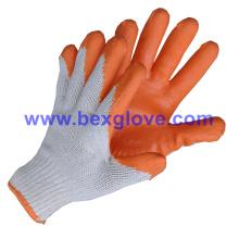 Extra grueso, firme y cómodo 10 Gauge Tc Liner, revestimiento de látex, acabado suave guantes de seguridad