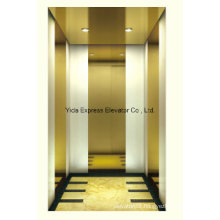 Titanium Gold Mirror Home Elevator