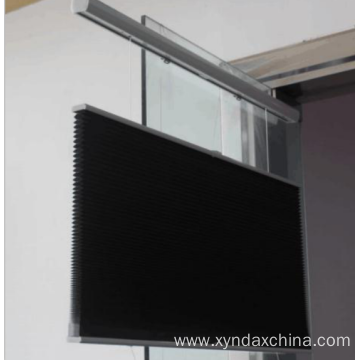 Up and down honeycomb blinds