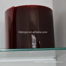 Rideau PVC haute qualité résistant aux UV