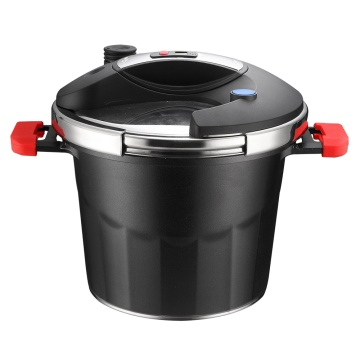 Aluminum Pressure Cooker with Stainless Steel Lid