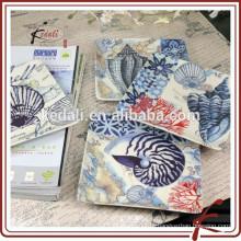 Placa de louça de porcelana decorativa mais vendida para casa