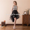 Lace Dovetail Butterfly Wedding Dress lace short evening dress short front long back cap sleeve formal evening dress