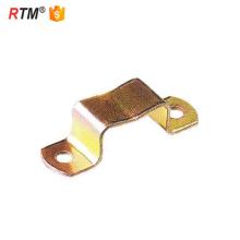 L 17 support de montage en caoutchouc epdm collier de serrage u type collier de serrage