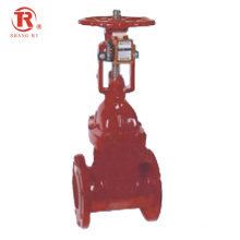 China Factory Hot Sale Ductile Cast Iron Resilient Seat Signal Gate Valve for fire safe
