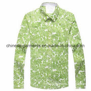 Fashion Long Sleeve Shirt for Men, Men's Garments, Shirt Blouse