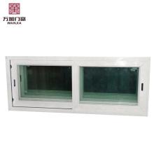 Ventanas correderas de pvc pequeñas con vitrales Ventanas corredizas con vitrales UPVC pequeñas