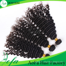 Perruque de cheveux humains indienne de qualité supérieure, trame de cheveux vierge Remy