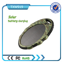 Camo Color Dual USB Ports Solar Power Bank Charger