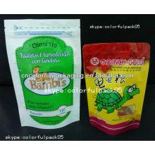 wainwrights bolsas de plástico para alimentos para perros / bolsa de papel seca de aluminio para perros con cierre de cremallera