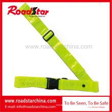 Correia de cintura refletiva de segurança ajustable para guarda