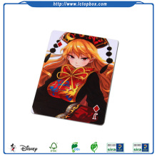 Advertising cartoon printing playing cards
