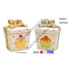 Christmas Ceramic Cookie Jar Set for Wholesale