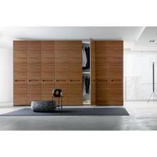 Sandelholz Oberfläche Melamin Schlafzimmer Kleiderschrank für Projekt