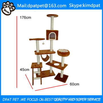 Simple Cheap New Design Modern Easy to Clean Cat Tree