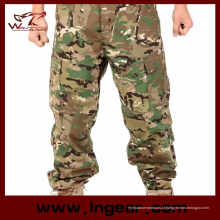 Man′s camuflagem calças calças militares calças de combate