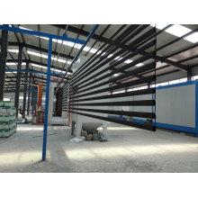 Tube en acier enduit de poudre utilisé comme balustrade de balcon supérieur