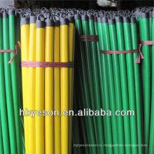 Ручка деревянной метлы с пластиковым крючком