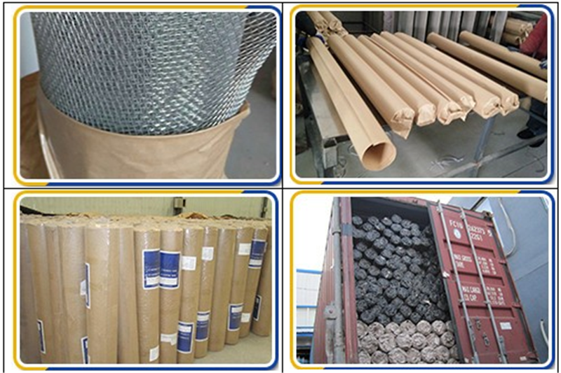 hexagonal mesh netting package