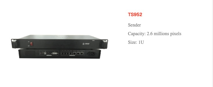 Tsending Box Of Led Display Ts952 Model