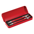 Aluminum writing pen set