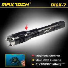 Maxtoch DI6X-7 LED Scuba Flashlight Waterproof Cree Diving