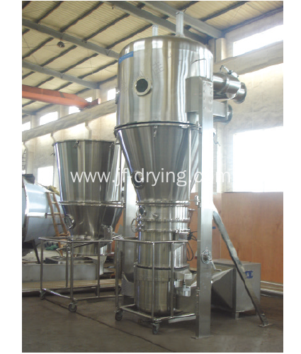 Rotor Fluid Bed Granulator And Coating Machine