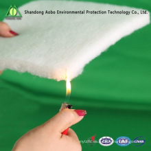 Con certificación guata de fibra de poliéster FR para colchón