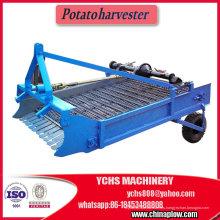 Granja Tractor montado cosechadora de papa agrícola