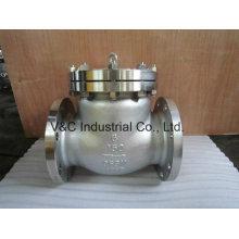 Válvula de retención de balanceo ANSI de acero inoxidable