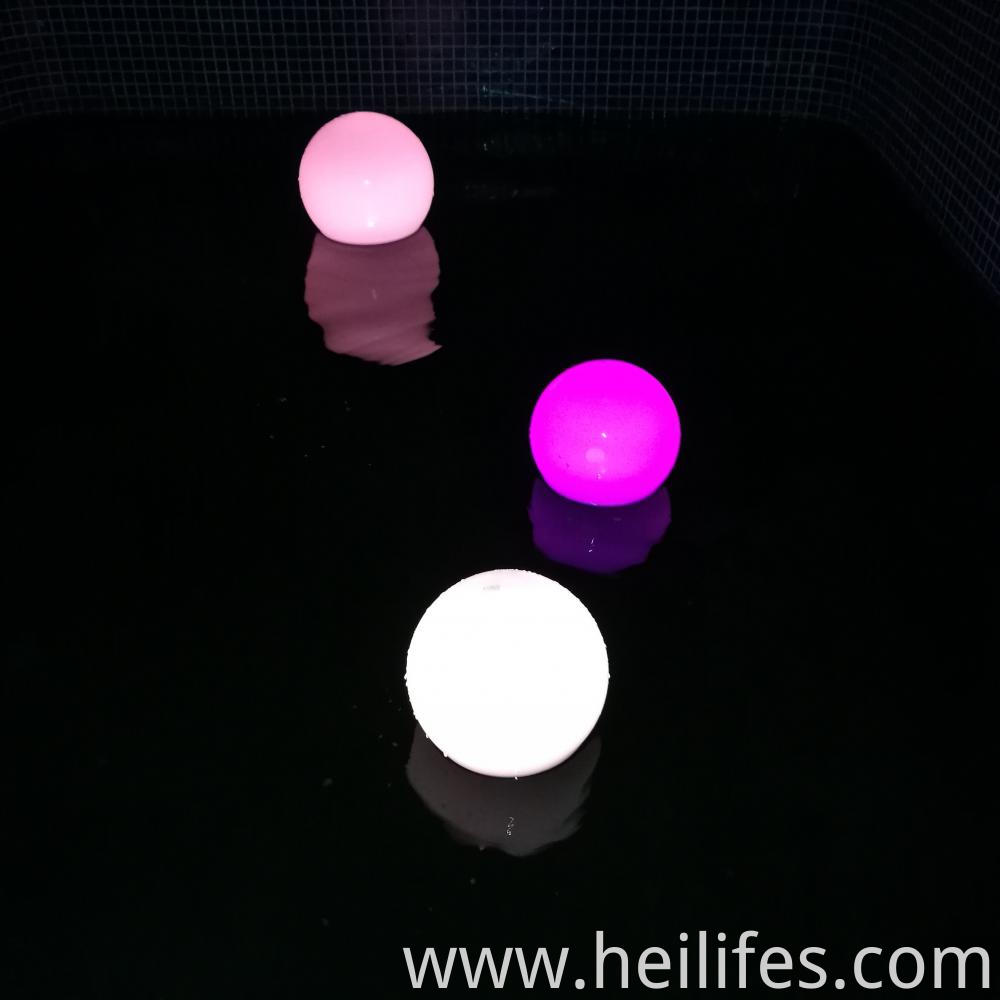 Entertainment venue LED ball light