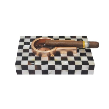 Eco Friendly Mother of Pearl Cigar Ashtray