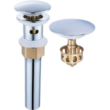 Brass Bathroom Pop Up Basin Drain Stopper