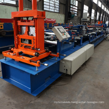 Automatic c channel c80-300 c-purlin roll former line c profile steel roll forming machine