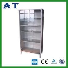 Instrumento de portas de vidro do armário