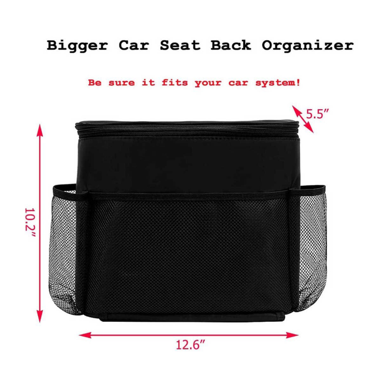 Seat Back Storage Bag
