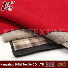 High Elastic Fabric Bonded with TPU and Polar Fleece 3 Layer Fabric