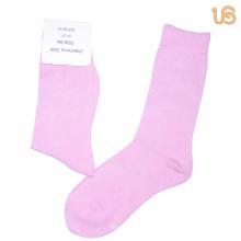 Damen Einfarbig Seide Socke